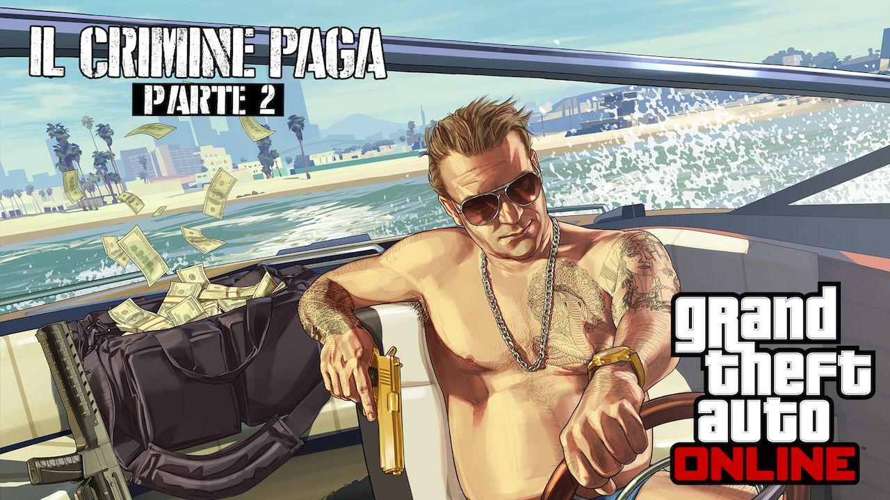 GTA Online: al via lo speciale weekend bonus Il Crimine Paga Parte 2