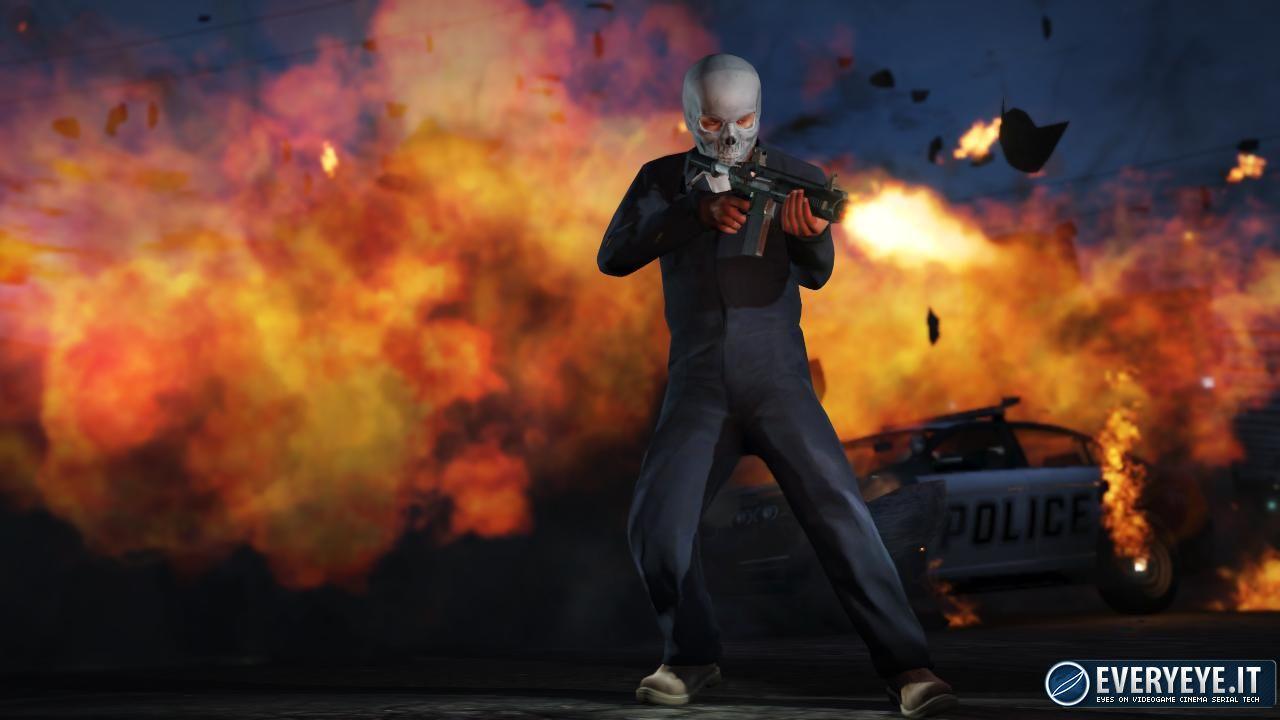 GTA V per PS4 e Xbox One: trailer dedicato alla modalità con visuale in prima persona