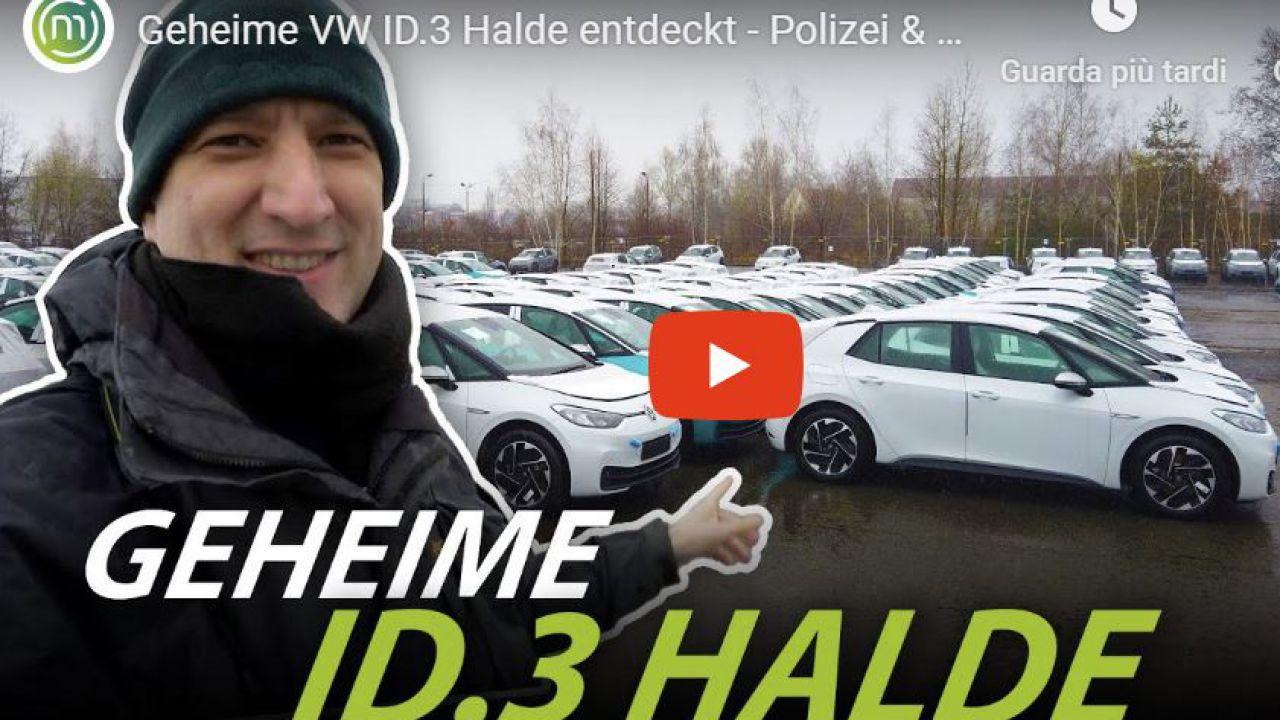 Guarda un'intera flotta di Volkswagen ID.3 già assemblate, ma per la consegna manca molto