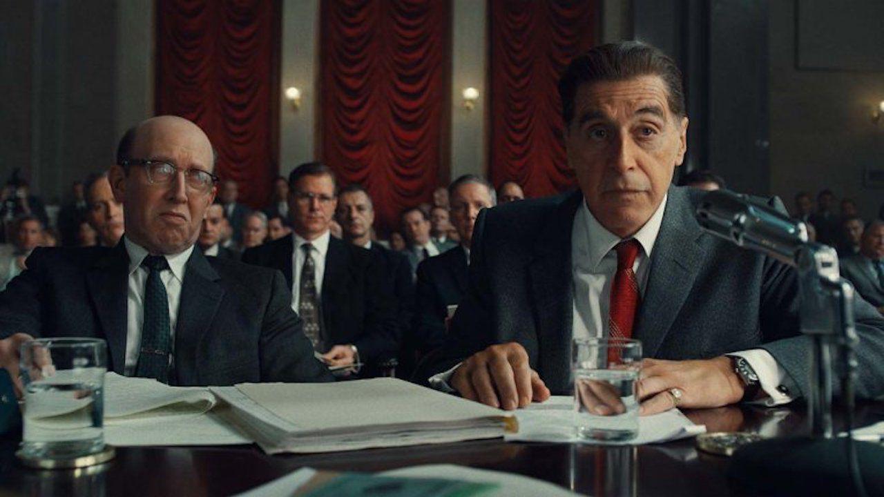 Guardate Scorsese, De Niro, Al Pacino e Pesci durante la prima lettura di The Irishman