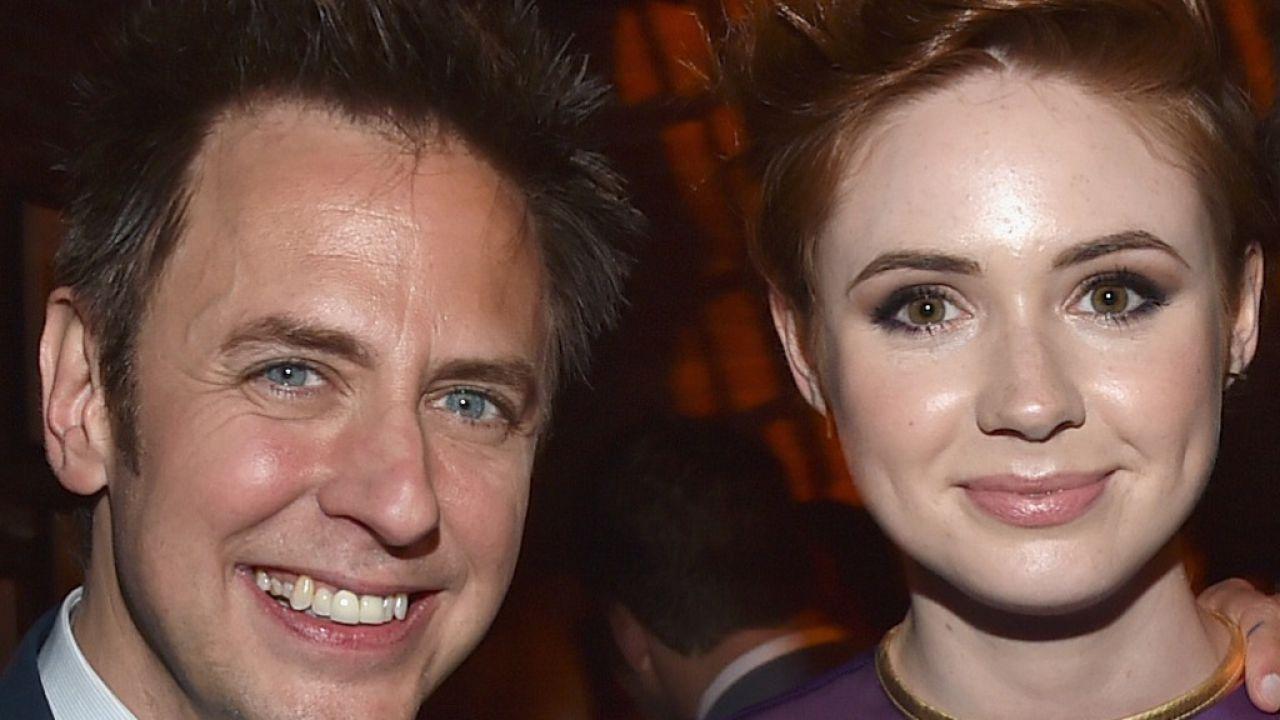 Guardiani della Galassia: James Gunn fa gli auguri a Karen Gillan con una foto mozzafiato