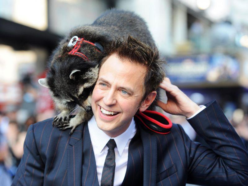 Guardiani della Galassia, James Gunn condivide un fantastico cosplay di Rocket Raccoon