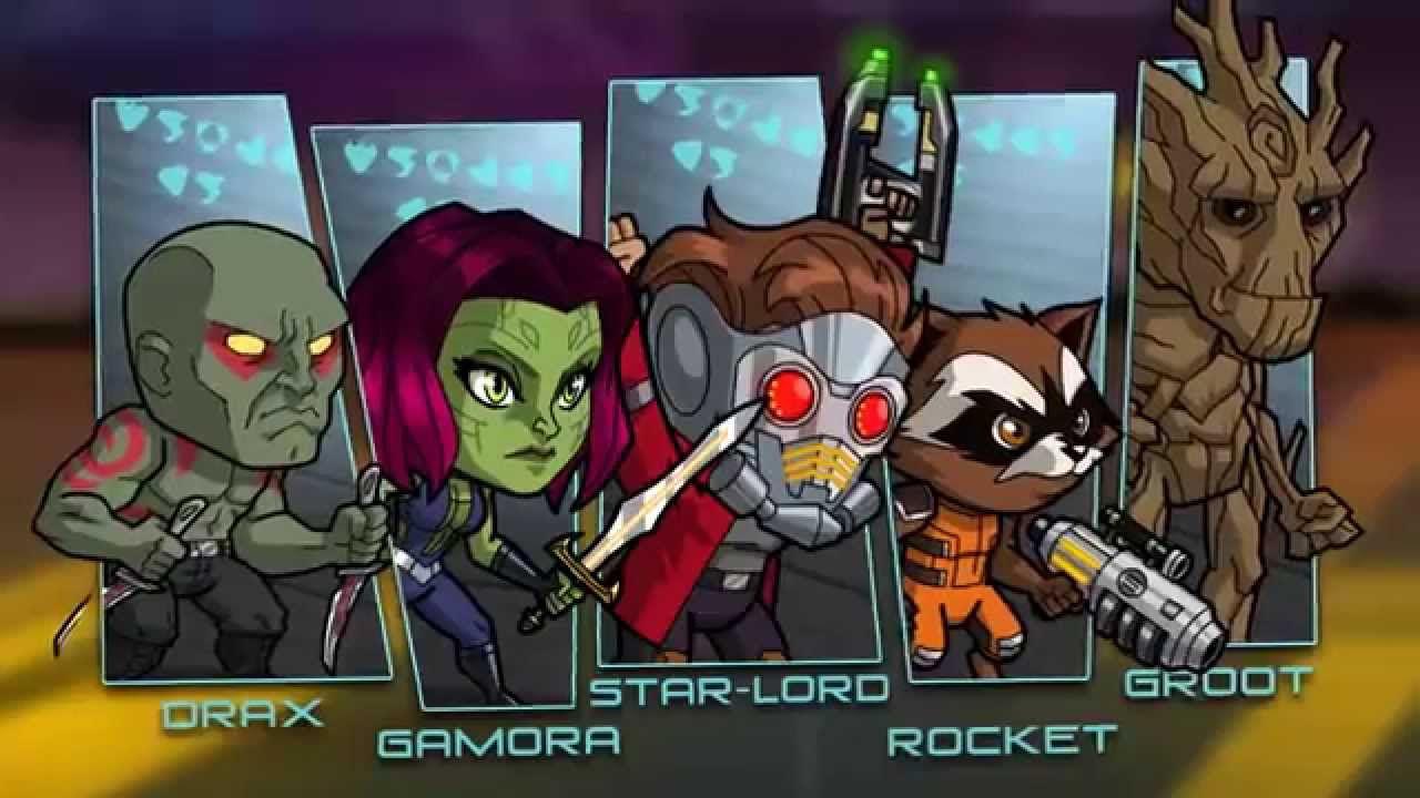 Guardiani della galassia: online il promo della serie animata