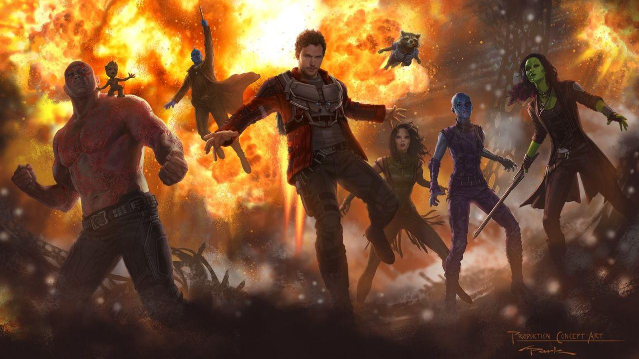 Guardiani della Galassia Vol.2 - Ego concept Art e scene eliminate ...