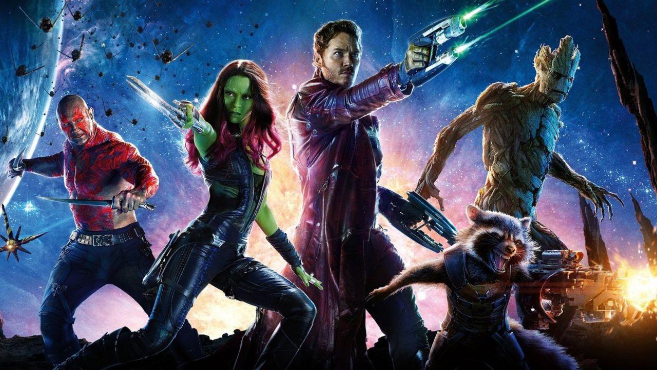 Guardiani della Galassia vol.2, una foto inedita dietro le quinte