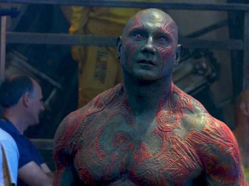 Guardiani Della Galassia Vol.3: Bautista svela cosa vorrebbe per Drax