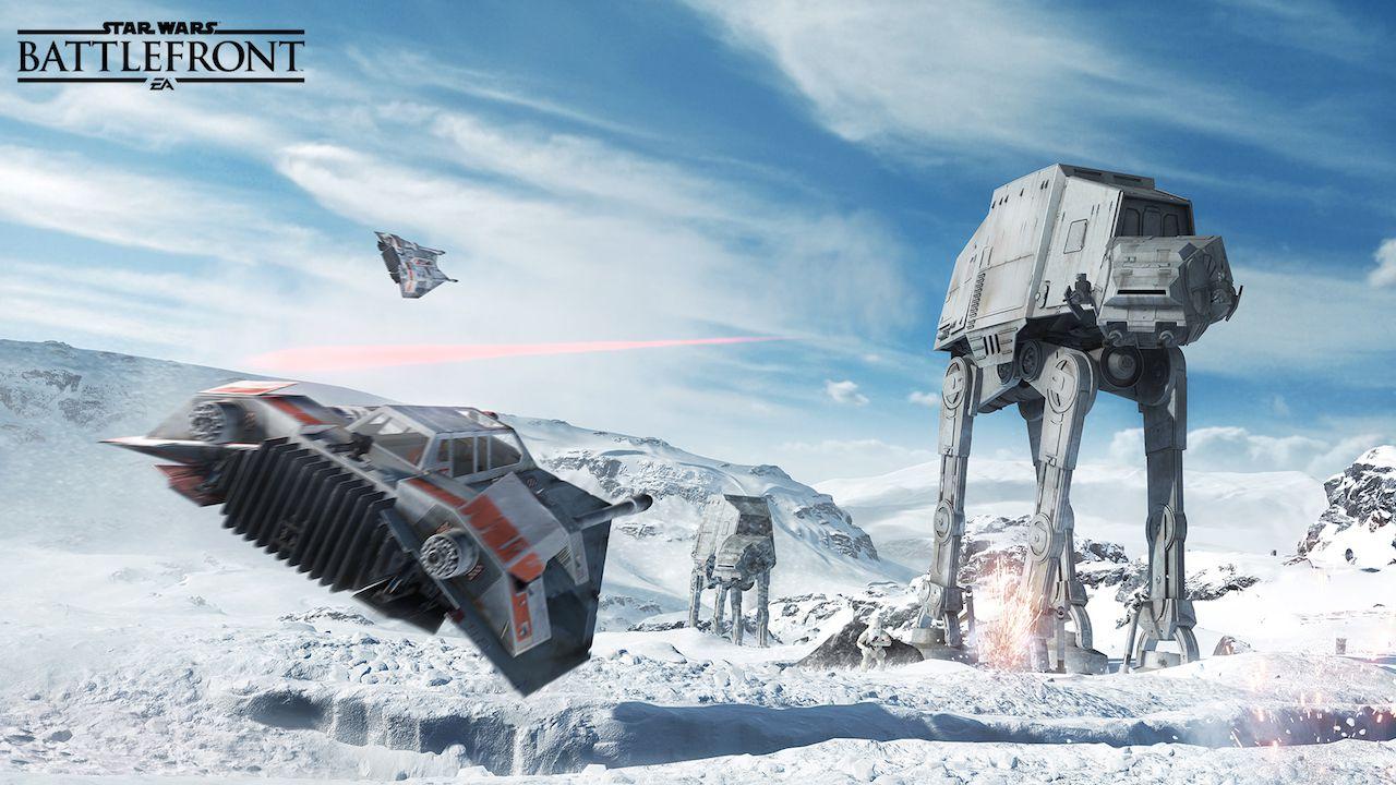 Guidare gli AT-ST in Star Wars Battlefront sarà molto divertente
