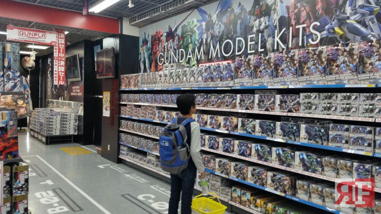 Gundam: questo artista costruisce dei diorama incredibili!