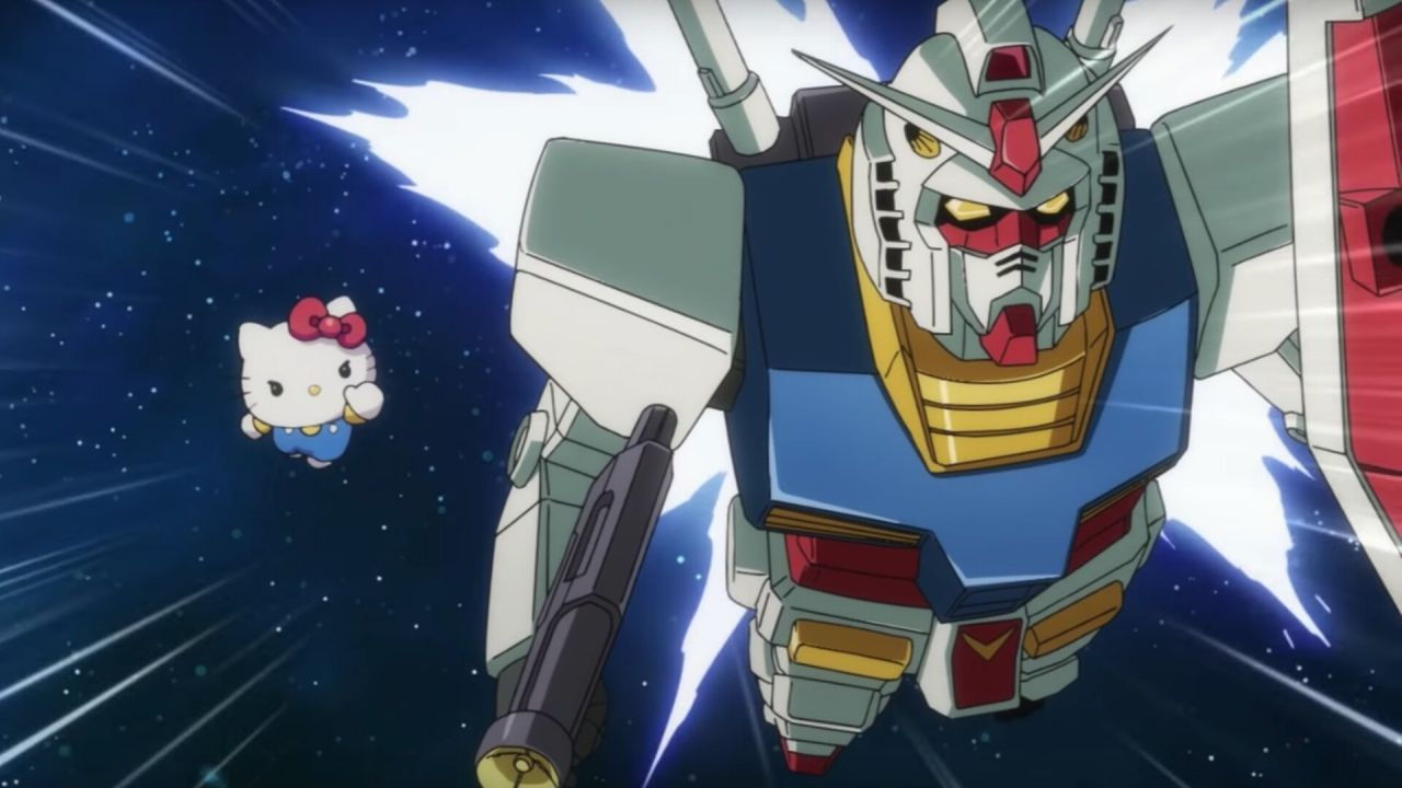 Gundam incontra Hello Kitty: torna il simpatico crossover con un nuovo modellino