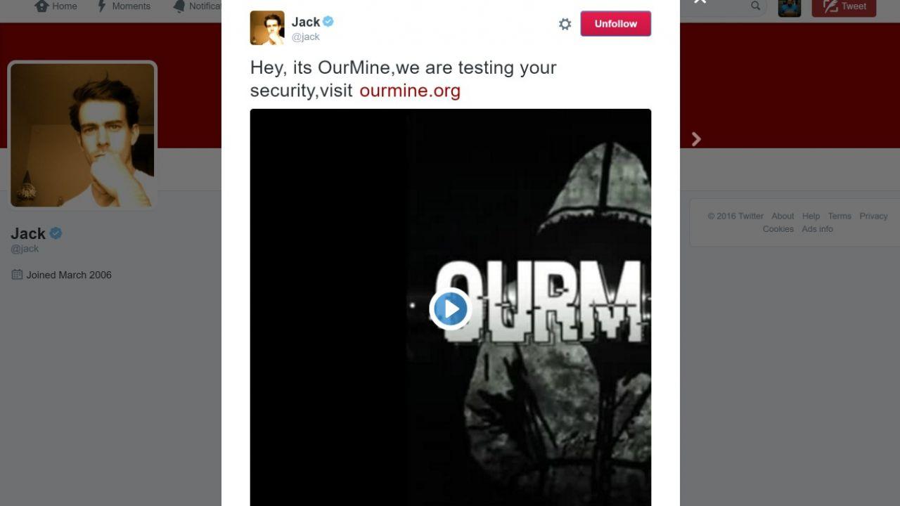 Sfregio al fondatore di Twitter: hackerato il suo account come sfida