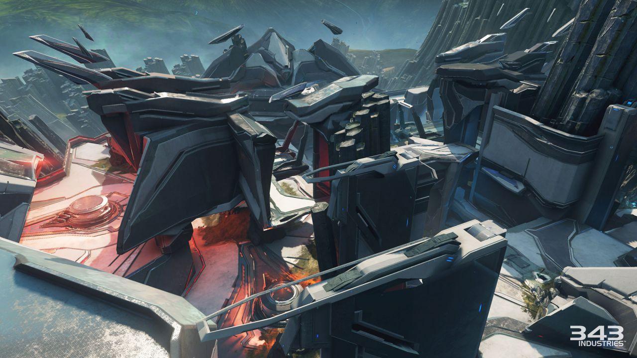 Halo 5 Guardians: alcune mappe Forge della community aggiunte alla rotazione multiplayer