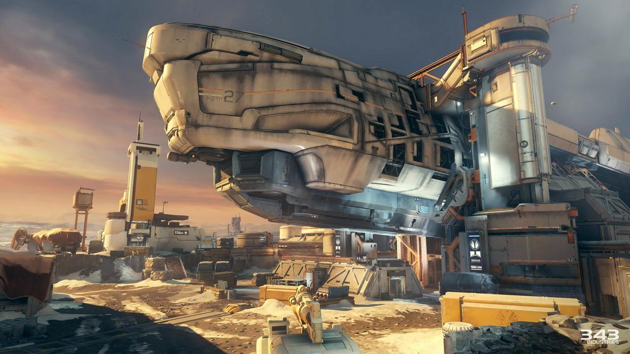 Halo 5 Guardians: Alcuni scatti presentano le mappe dell'aggiornamento Ghosts of Meridian