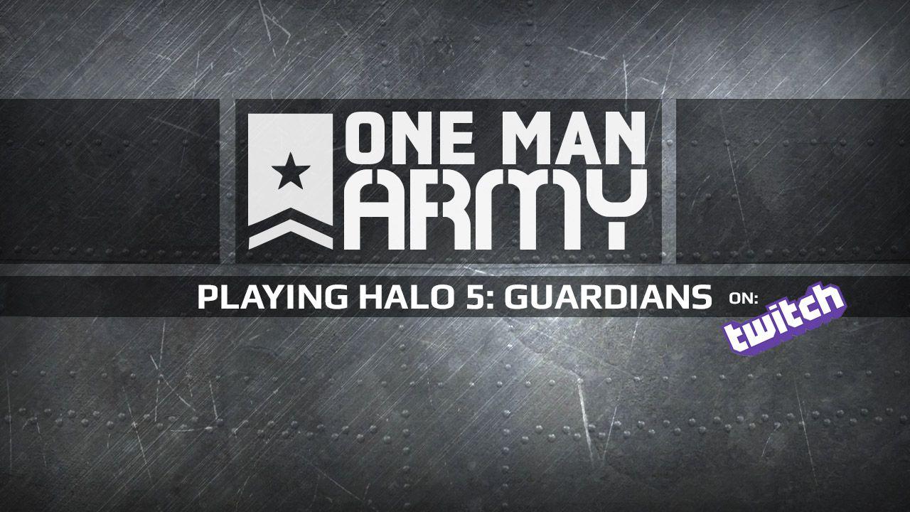 Halo 5 Guardians giocato da PAN1C in diretta su Twitch - Replica Live 19/11/2015