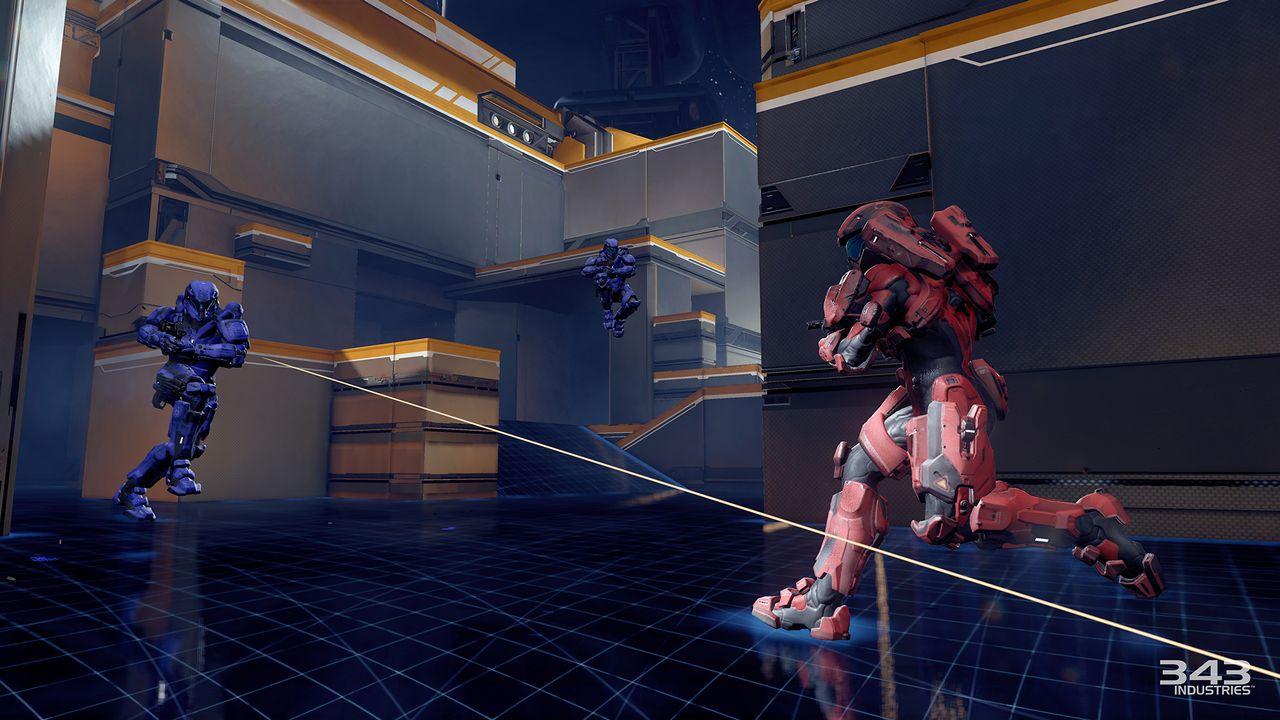 Halo 5 Guardians Multiplayer Beta - Gameplay Live - Replica 13/01/2015
