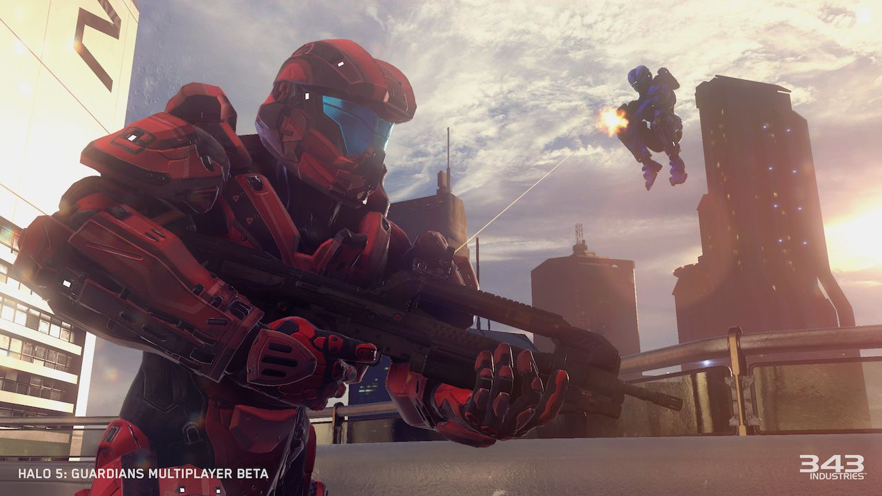 Halo 5 Guardians Multiplayer Beta - Replica Live - 07/01/2014