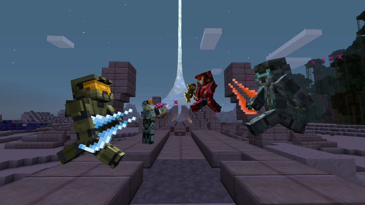 Halo 5 Guardians si prepara ad invadere Minecraft