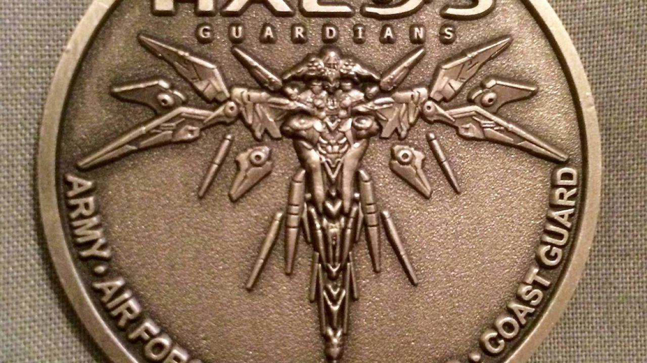 Halo 5 Guardians: una moneta commemorativa per chi compra il gioco in una base militare
