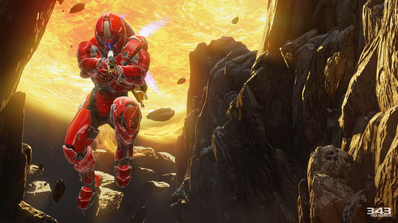 Halo 5 Guardians: un utente crea una boss battle utilizzando Forge