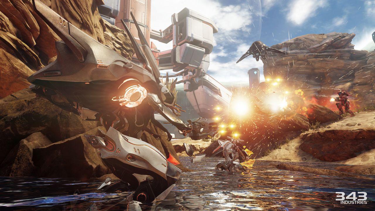 Halo 5 Guardians: un video mostra la modalità Warzone giocata con la pistola al plasma
