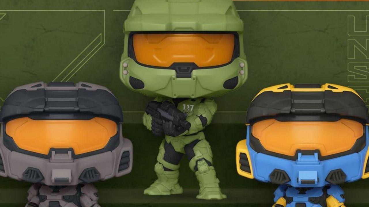 Halo Infinite: ecco i nuovi Funko Pop, alcuni contengono DLC esclusivi