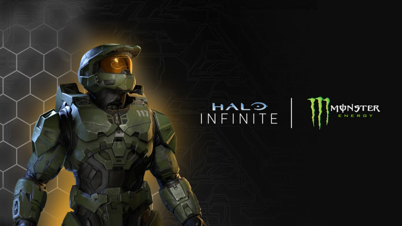 Halo Infinite stringe una partnership con Monster Energy: XP boost e skin armi