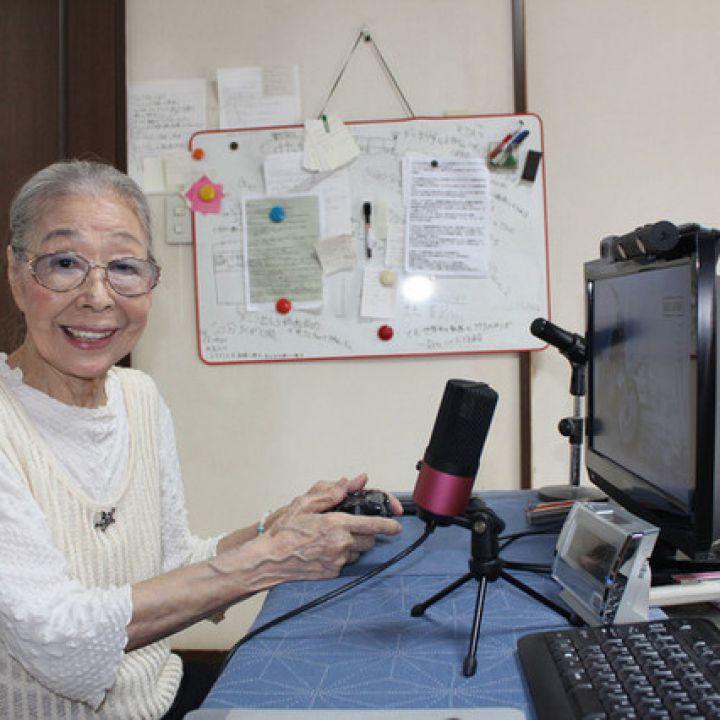 hamako mori streamer giapponese 89 anni i videogiochi tengono mente attiva v3 401355 720x720 - Hamako Mori, l'anziana signora con una passione che dura da una vita: i videogiochi