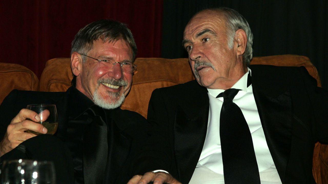 Harrison Ford ricorda 'suo padre' Sean Connery: 'Dio, se ci siamo divertiti!'