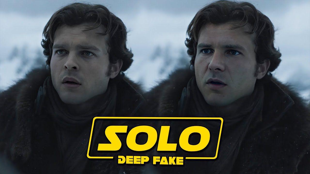 Harrison Ford torna nei panni di Han Solo nel deep-fake di Solo: A Star Wars Story!