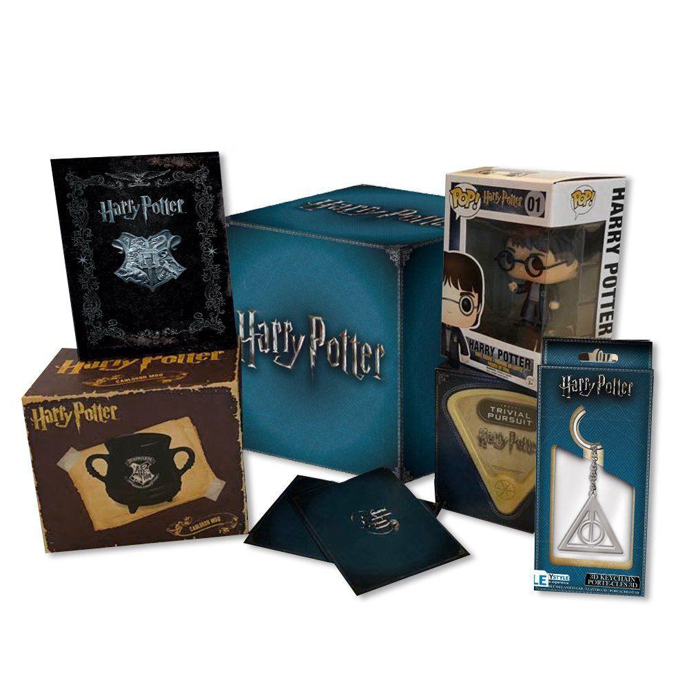 Harry potter fan box 16 blu ray e tanti gadget a prezzo for Prezzo del pacchetto di 2 box auto