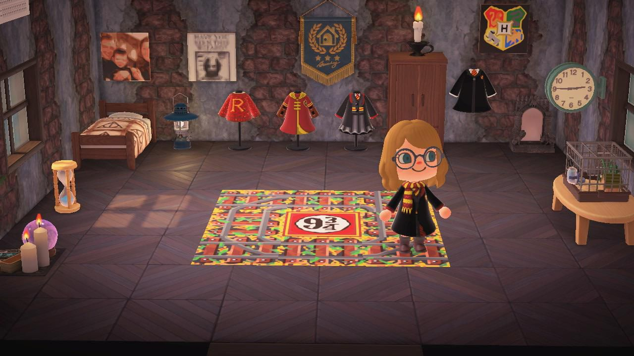 Harry Potter, ecco l'Hogwarts Express in Animal Crossing New Horizons