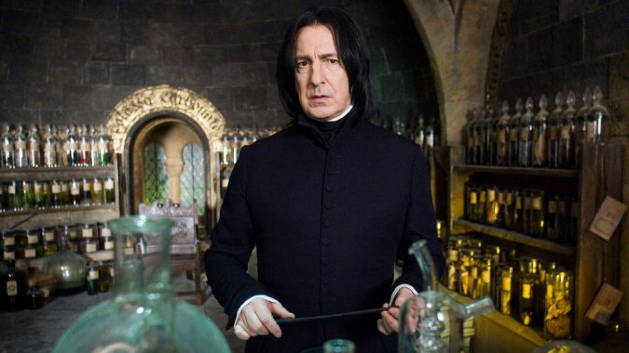 J.K.Rowling e il segreto su Piton svelato ad Alan Rickman