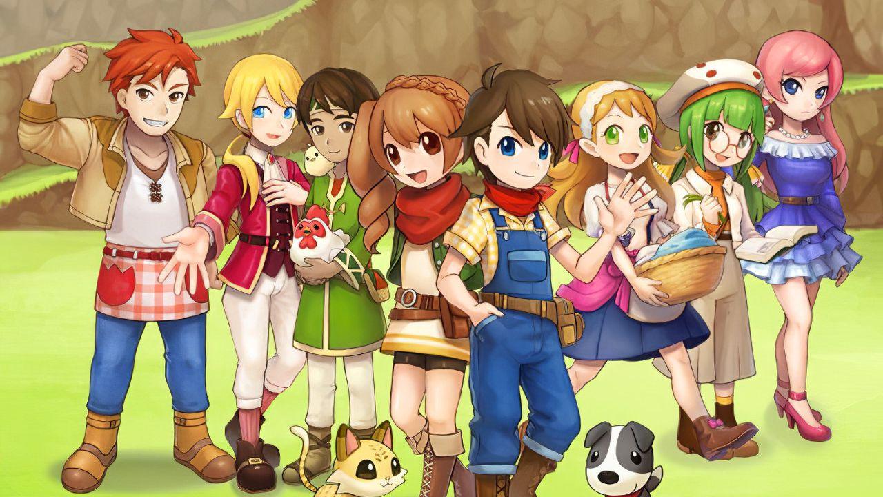 Harvest Moon Mad Dash annunciato per PS4 e Switch: primo
