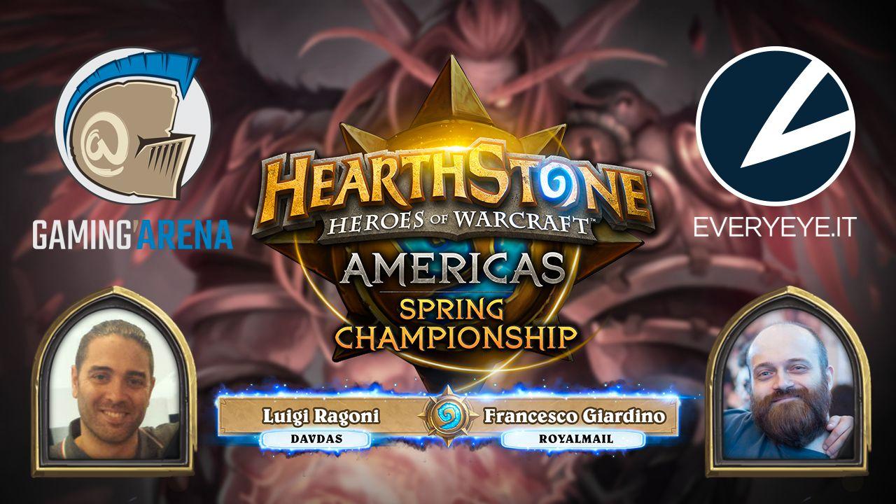 Hearthstone Americas Spring Championship 2016 - Replica Live 25 e 26 giugno 2016