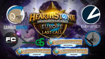 Hearthstone: Europe Last Call - Replica Live 08/10/2016