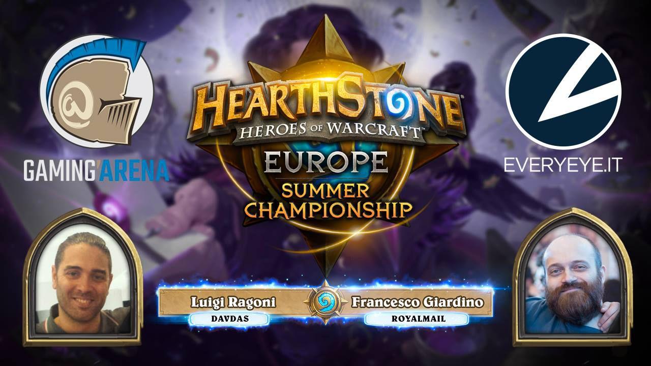 Hearthstone Europe Summer Championship in diretta su Twitch il 24 e 25 settembre