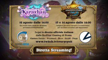 Hearthstone Europe Summer Preliminary in diretta su Twitch il 14 Agosto