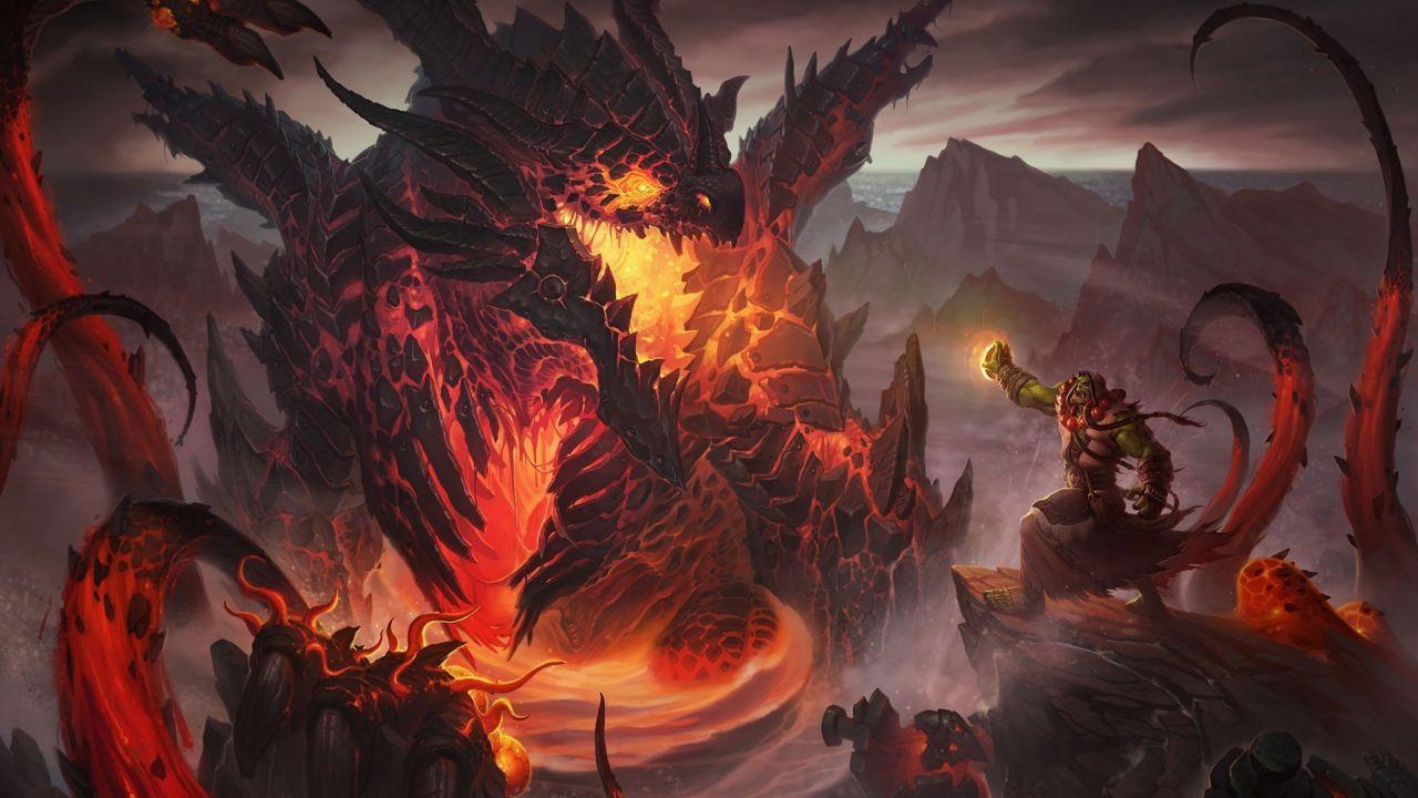 Hearthstone Sussurri degli antichi: rivelata una nuova versione di Deathwing