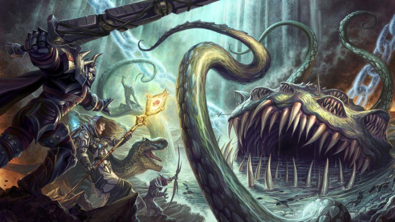 Hearthstone Sussurri degli Dei Antichi: svelato Yogg-Saron, l'ultimo Dio Antico