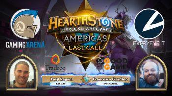 Hearthstone: USA Last Call in diretta su Twitch il 15 Ottobre alle 18:00