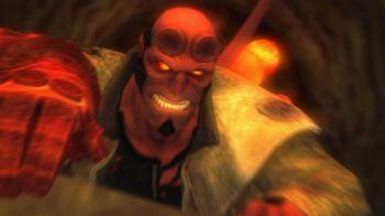 Hellboy : The Science Of Evil in fotografia su PSP