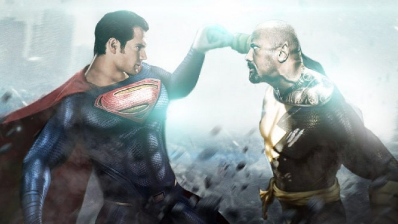 Henry Cavill vs The Rock: BossLogic anticipa il ritorno di Superman in Black Adam