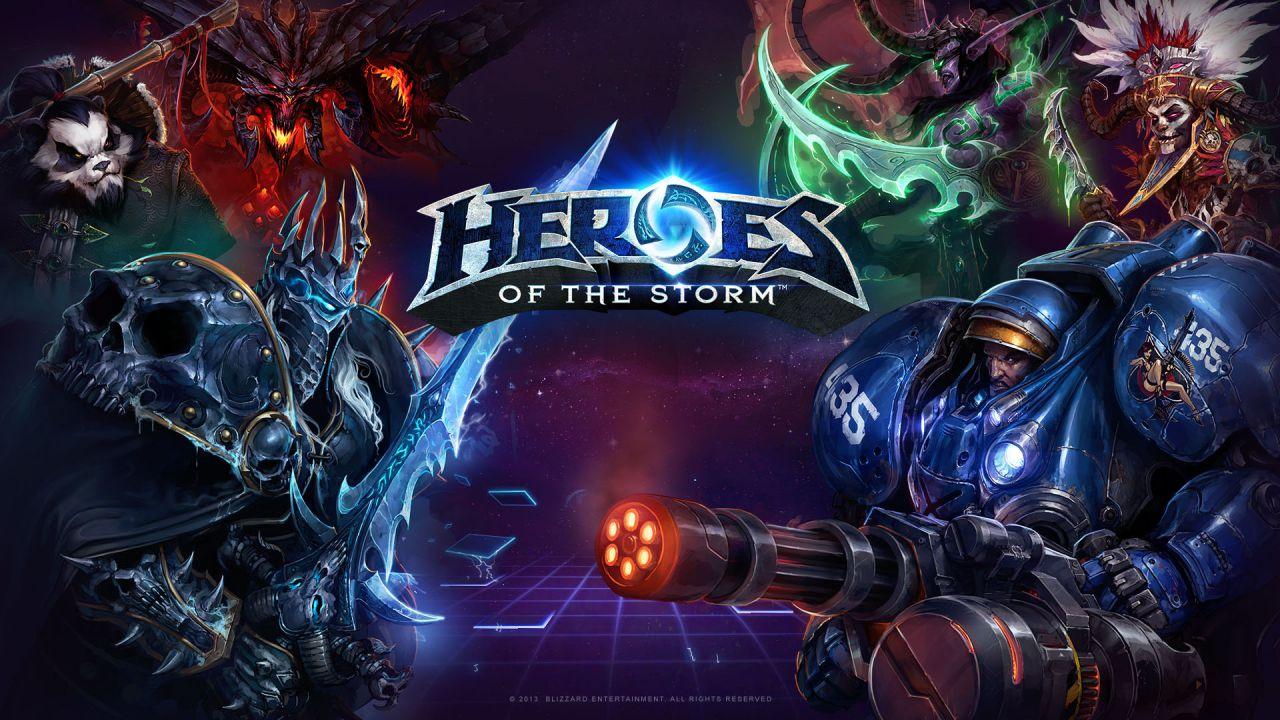 Heroes of the Storm: cambio delle dimensioni del gruppo nella Lega Eroi