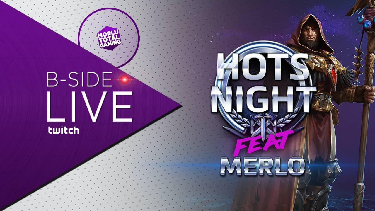 Heroes of the Storm Night con Morlu, Todd e Merlo - Replica 01/07/2016