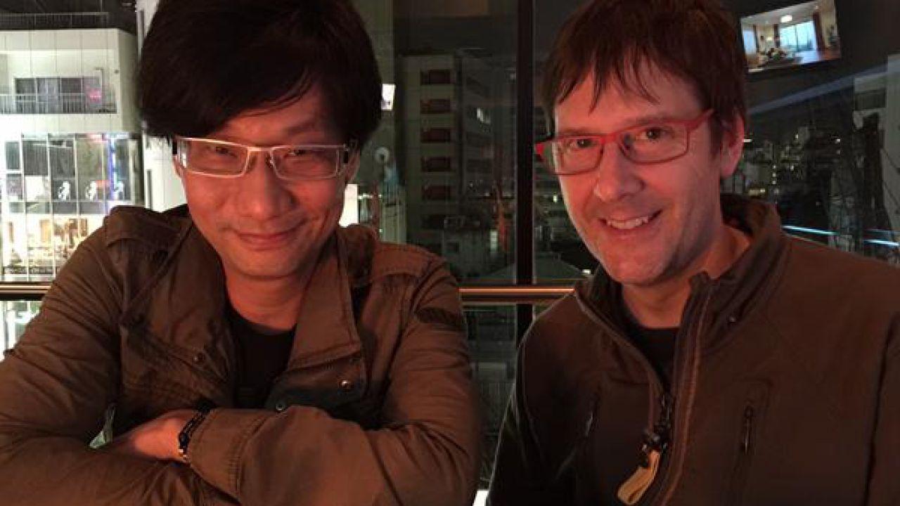Hideo Kojima e Mark Cerny insieme in un selfie