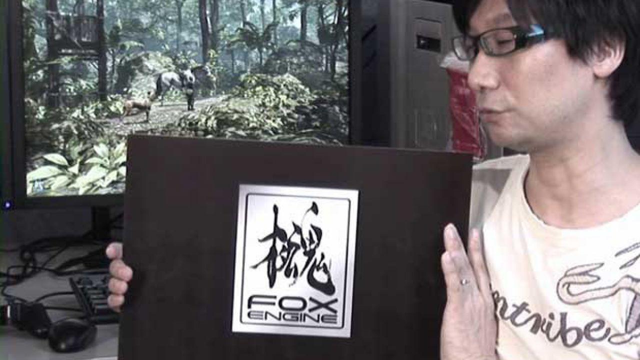 Hideo Kojima tornerà a parlare del FOX Engine alla GDC 2013