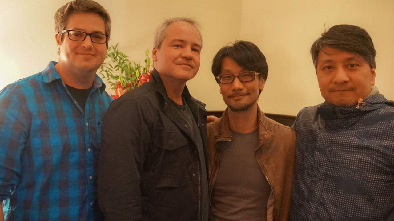 Hideo Kojima visita gli uffici di Respawn Entertainment e incontra Vince Zampella
