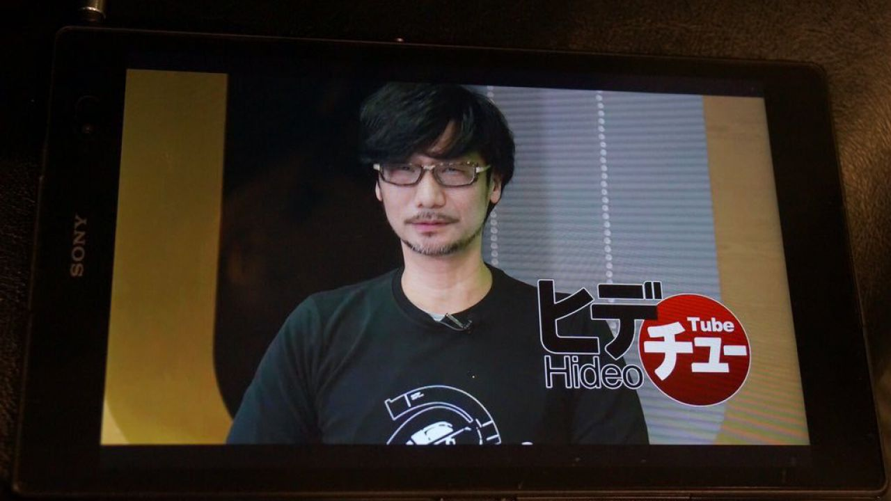 HideoTube è la nuova trasmissione di Hideo Kojima