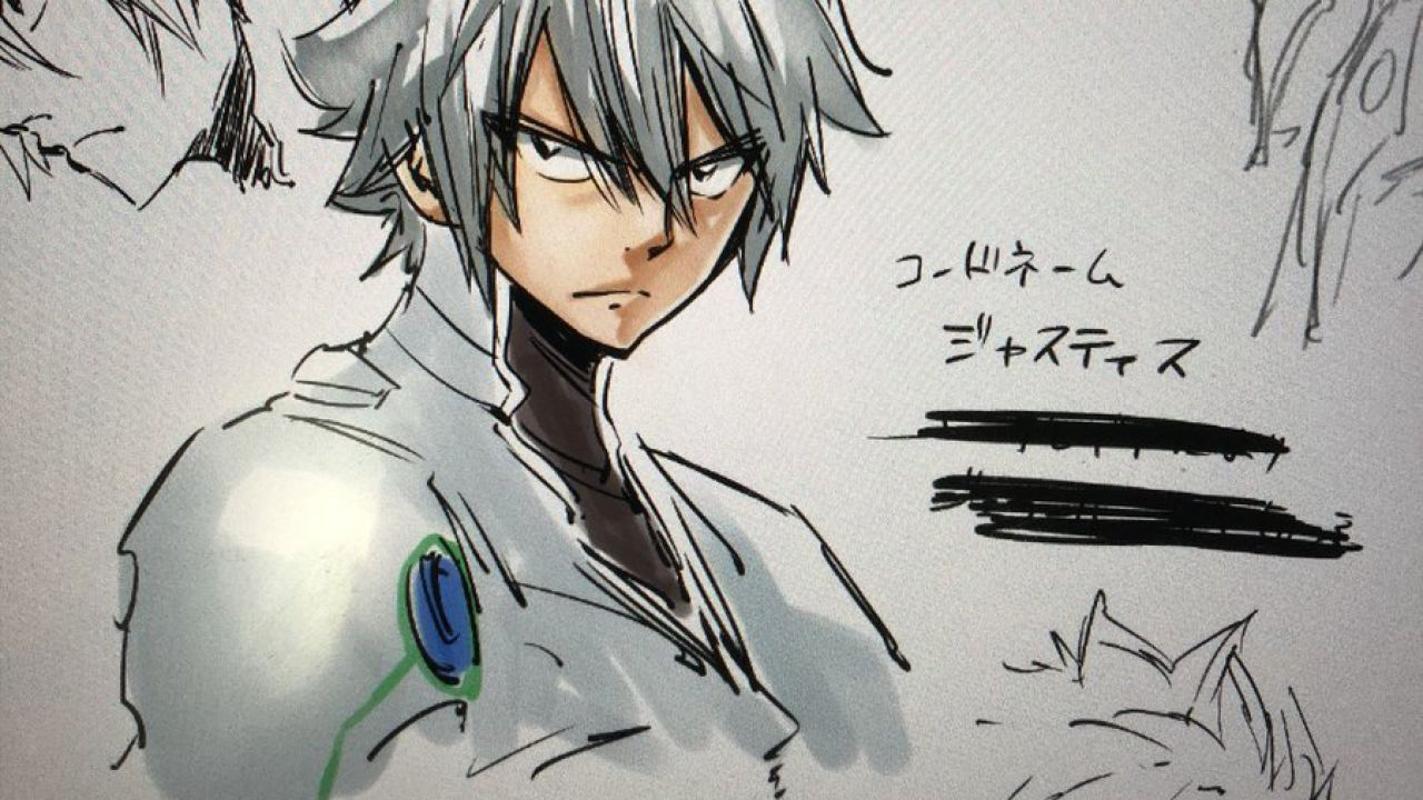 Hiro Mashima ci mostra Justice, il nuovo personaggio di EDENS ZERO
