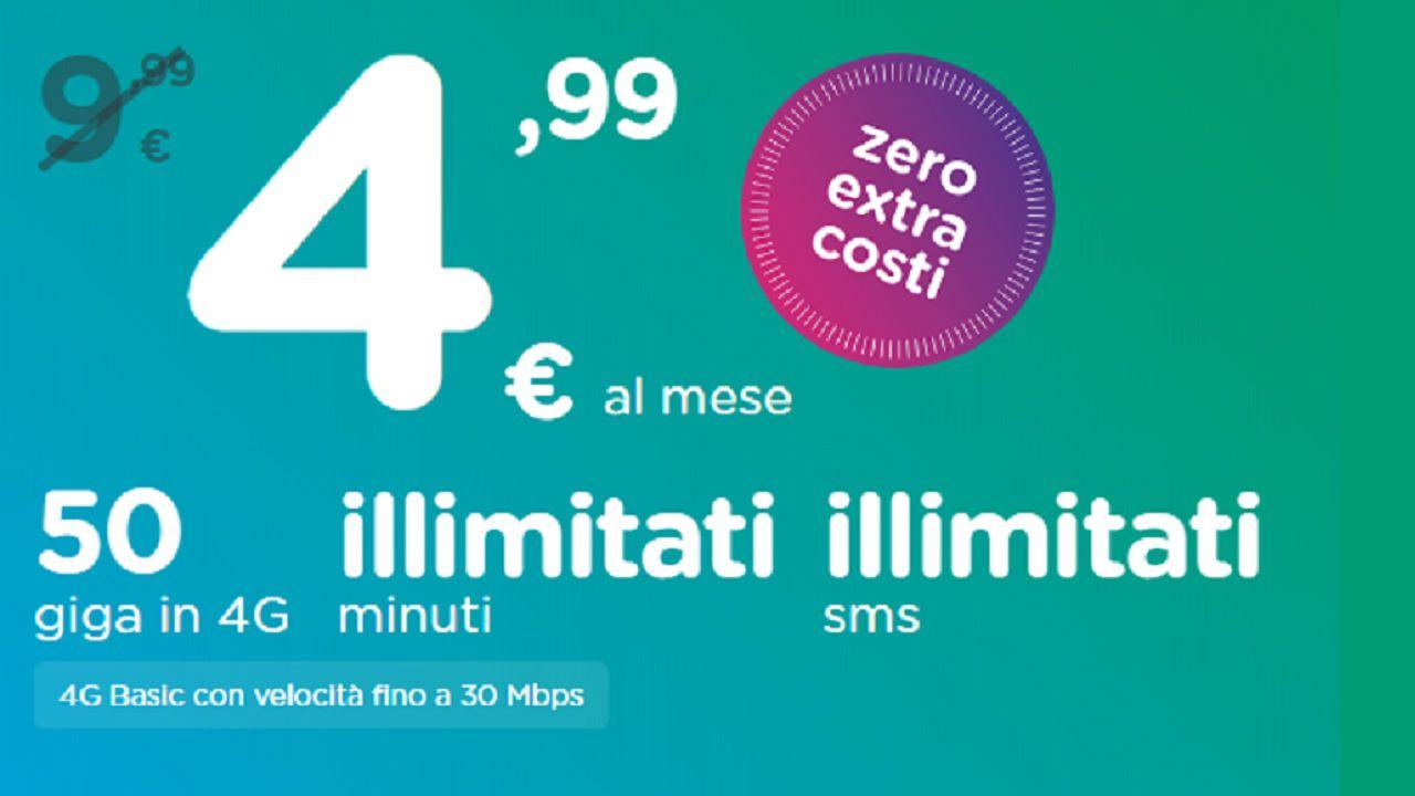ho. Mobile sferra l'attacco finale a iliad: 50 Giga, SMS e minuti illimitati a 4,99 euro