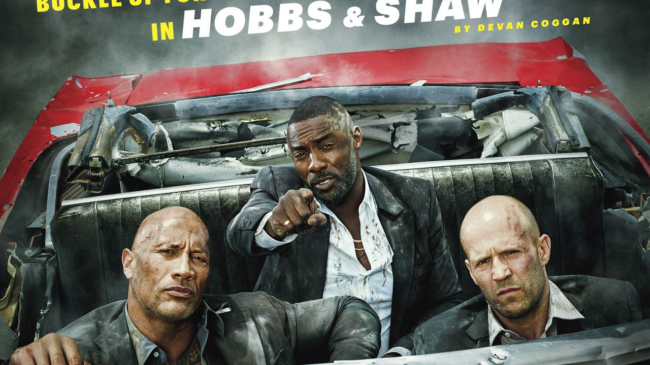 Hobbs and Shaw: i protagonisti sulla copertina di Entertainment Weekly